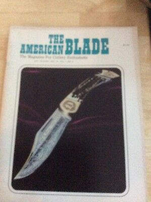 American Blade Magazine, Vol 1, No 2, July-August 1973