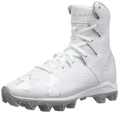 UNDER ARMOUR HIGHLIGHT RM football cleats white edition Youth/boys 4/4.5/5/5.5/6