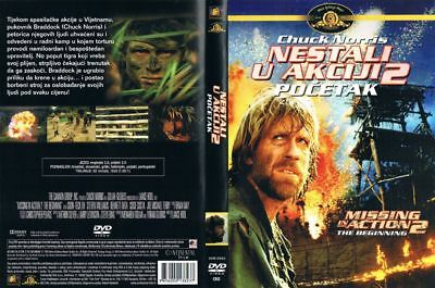 Missing In Action 2: The Beginning (1985) Chuck Norris - Croatian Dvd