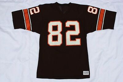 best loved 71e18 7745c VINTAGE MENS MEDIUM Cleveland Browns Ozzie Newsome sand knit football  jersey 80s