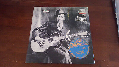 robert johnson the complete recordings 3 LP box set C3-46222 columbia
