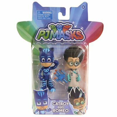 NEW Just Play PJ Masks 2-Pack Figures Catboy vs Romeo