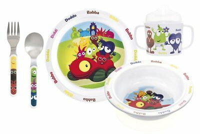 Babblarna Melamin feeding sets 5 parts