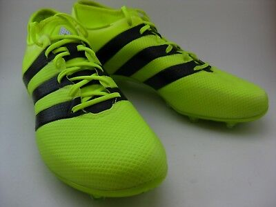 watch 84284 4e7c4 ADIDAS ACE 16.2 Primemesh FG/AG Yellow Soccer Cleats Shoes (Mens) ART AQ3450