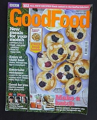 BBC Good Food, September 2012, Potato Salad, Profiteroles, Plum & Raspberry Jam