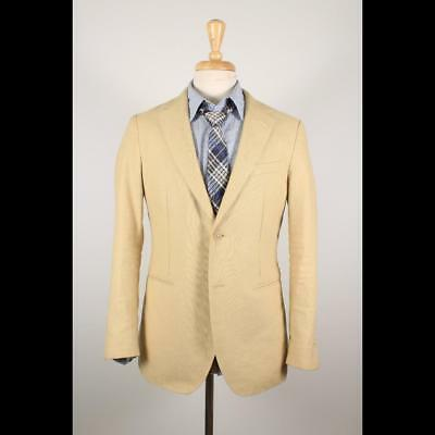buy popular c151f 63051 GANT Rugger 40S Beige Linen Cotton 2B Working Cuff Sport Coat Blazer Jacket  46-