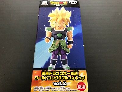 Movie Dragon Ball Super WCF World Collectable Figure Doll BROLY Vol.2 2 Japan