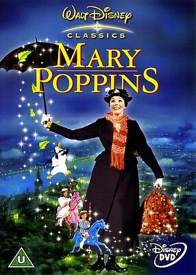 Mary Poppins DVD - Brand New!  Free Shipping!