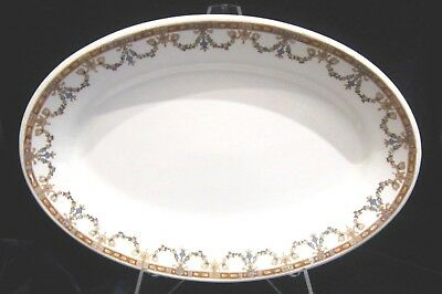 John Maddock & Sons Vitrified Oval Serving Platter - 10.75 in. - Brown - England