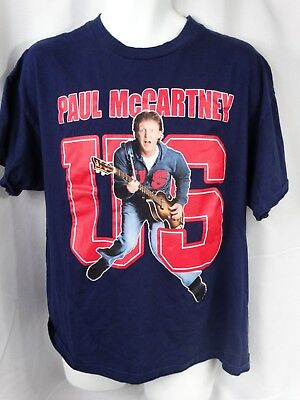 Paul Mccartney  Us Concert T-Shirt Sizes  Xl 2005 Unique Style Look