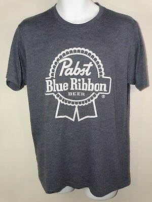 Pabs Blue Ribbon Beer T-Shirt Sizes Large Men's Low Price Polycotton New