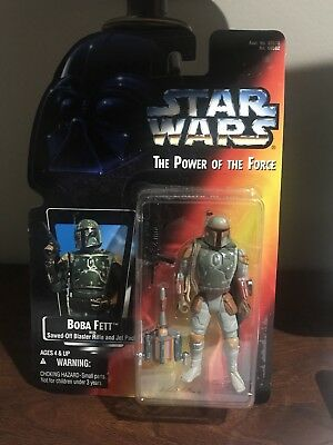 Star Wars Boba Fett  The Power Of The Force Action Figure, New