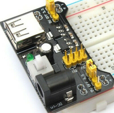 For Arduino 3.3V/5V Breadboard Module MB102 Supply HOT Power Board 2016 NEW