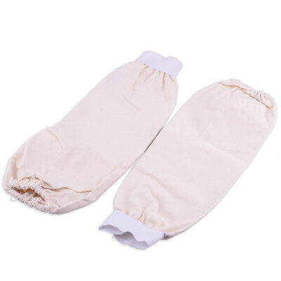 1Pair Flame Resistant Cotton Fabric Welding Protection Sleeves Arm Protector