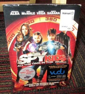 Spy Kids: All The Time In The World Dvd + Vudu Movie, Jessica Alba, Joel Mchale