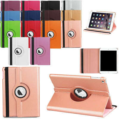 360 Rotating Leather Smart Cover Case for New iPad 9.7 iPad 4 3 2 Air mini AU