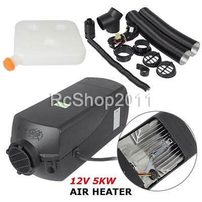 5kW 12V Air Diesel Heater 2xVent Duct For Car Trucks Motor-homes Boat Bus CAN