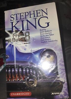 Stephen King From a Buick 8 Unabridged Audible Audio Edition 10 Cassettes New
