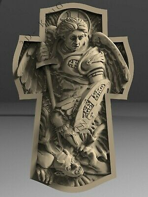 3D STL Model # THE CROSS 1 # for CNC Aspire Artcam 3D Printer 3D MAX Rhino