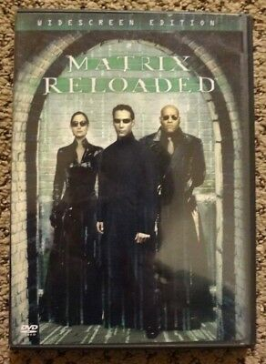 The Matrix Reloaded, Widescreen Edition, DVD Used