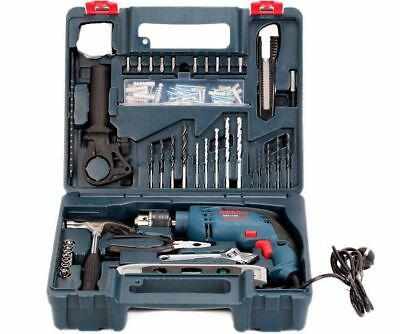 New Impact Drill Bosch Gsb 13 Re + 100 Pcs Accessory Kit Professional Tool GEc