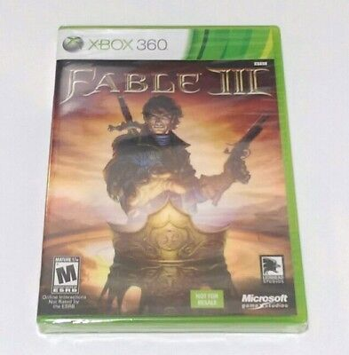 Fable 3 (Xbox 360) BRAND NEW FACTORY SEALED