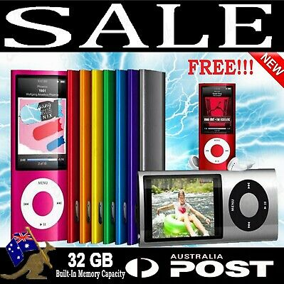 iPod Style 32GB Portable LCD MP3 MP4 Music Video Media Player FM Radio