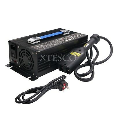 36V Golf Cart Battery Charger Input 220V & Powerwise Cable D Style for EZ xa80^^