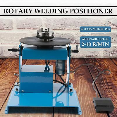 110V 50HZ Welding Positioner Turntable with DC24V/20W Drive Motor/ Foot Switch