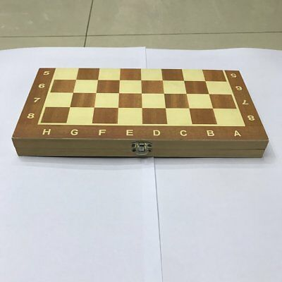 29cm Wooden Chessboard Folding Board Chess Game Funny International Chess Set WW