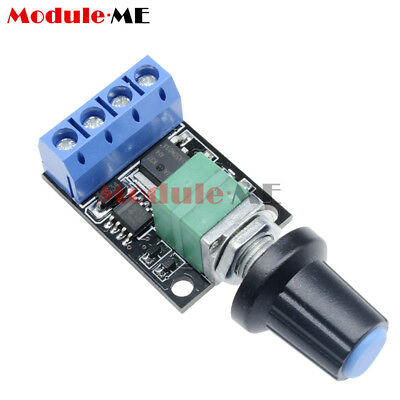 DC 5V-16V Motor Speed Regulator PWM LED dimming 10A Ultra Switch Module