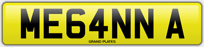Megan Megans Megs Number plate ME64 NNA CHERISHED CAR REG MEGAN A MEGHAN MEG UK