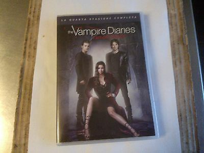 Dvd-Serie Tv-The Vampire Diaries-L'amore Morde-Quarta Stagione Completa-5 Dvd