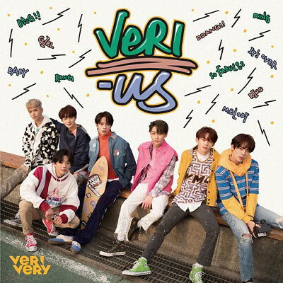 VERIVERY [VERI-US] 1st Mini Album OFFICIAL Ver CD+8p Post Card+Photo Card SEALED
