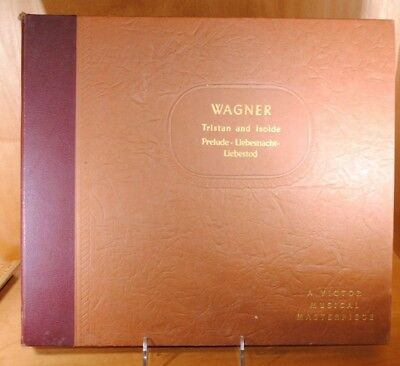 Wagner Tristan and Isolde Prelude Stowkowski Philadelphia Orch Victor Red Seal
