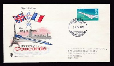Air CONCORDE 002 First Flight cover FILTON special cancel