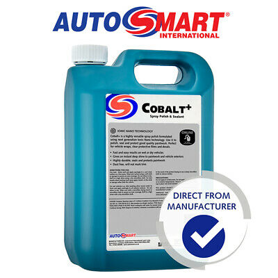 Autosmart Cobalt, nano spray polish & sealant 5L, Official
