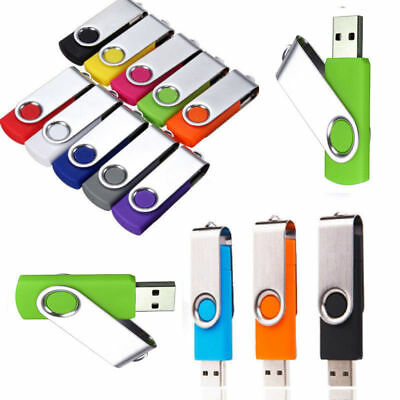 1-64GB USB 2.0 Flash Drives Memory Metal Flash Drives Pen Drive U Disk PC Laptop