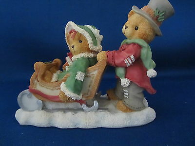 Cherished Teddies, Enesco, Lindsey & Lyndon, Special Ed. Excl MIB  #141178A
