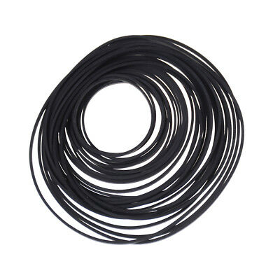 40x Small Fine Pulley Pully Belt Engine Drive Belts For Toys Module Car UUMW
