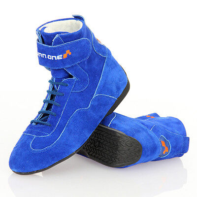 Turn One Basic Race Boots Blue Non-FIA Race / Rally / Karting