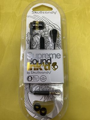 Skullcandy Ink'd 2.0 In-Ear Headphones with in-line Remote Mic - Gold / Black