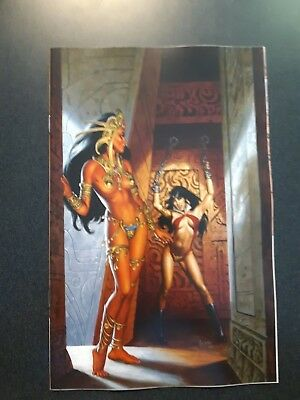VAMPIRELLA DEJAH THORIS #4 1:10 Joe Jusko Virgin Variant Dynamite NM Comic @