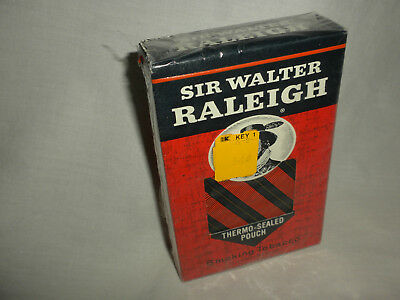 VTG SIR WALTER RALEIGH Soft Thermal-Sealed SMOKING TOBACCO POUCH NEW!!