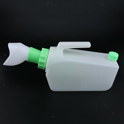 Reusable Female Bed Pee Urinal Bottle Spill Proof Night Drainage Container