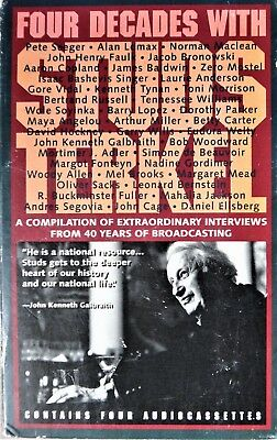 Four Decades with Studs Terkel, 4 Cassettes....