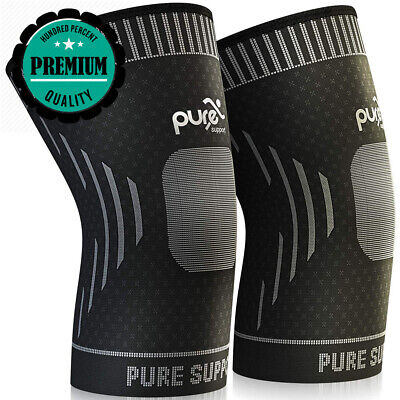 8a26c3fee1 Knee Support - Premium Compression Sleeve - Brace Patella Stabilizer for.