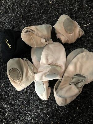 Old Used Ballet Flats Many Brands One Pair Per Order