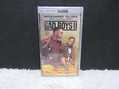 UMD Video for PSP, Bad Boys II with Will Smith, Widescreen Columbia Picture