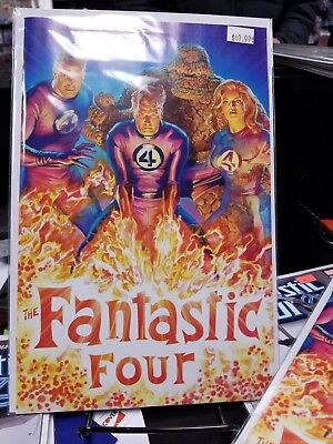 Fantastic Four #1 1 in 200 Alex Ross Variant